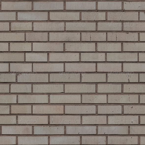 Seamless Brick wall w all maps for 3D texturing