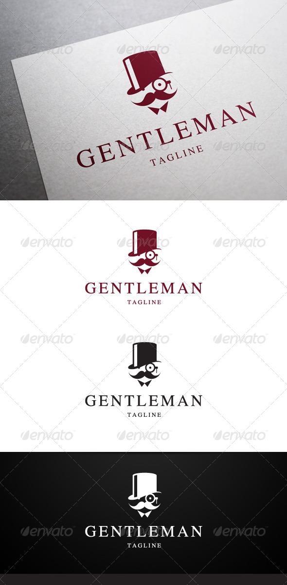 GraphicRiver Gentleman Logo 6447735