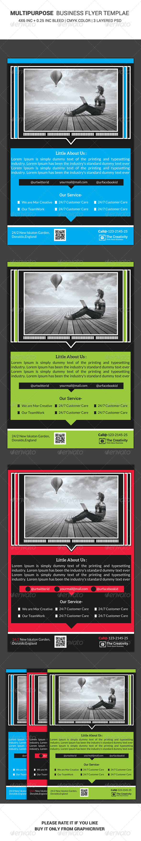 GraphicRiver Business Flyer Template 26 6448827