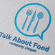 Talk About Food Logo - GraphicRiver Item for Sale
