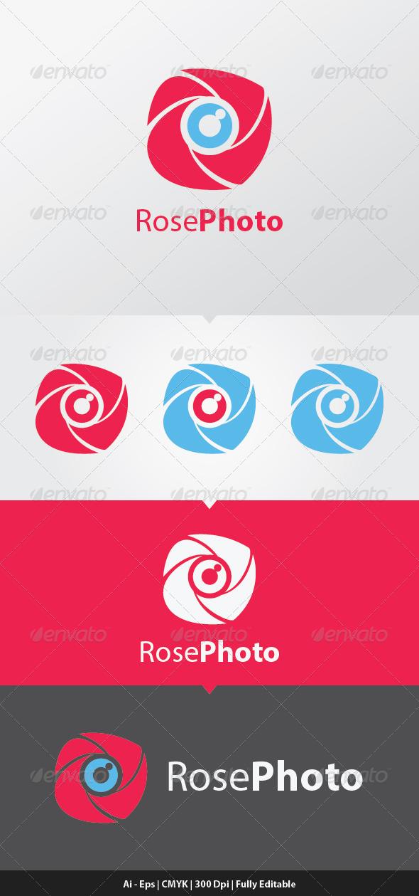 GraphicRiver RosePhoto Logo Template 6449560