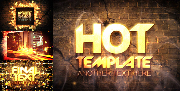 VideoHive After Effects Project - Really hot presentation 673953