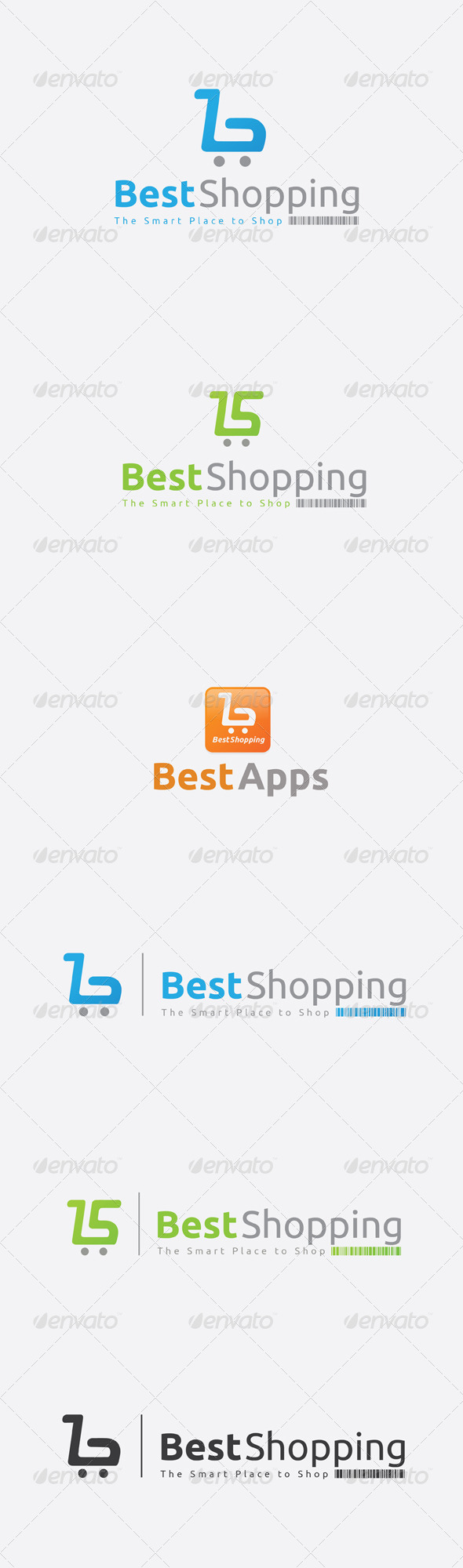 GraphicRiver Best Shopping Logo Template 6449661