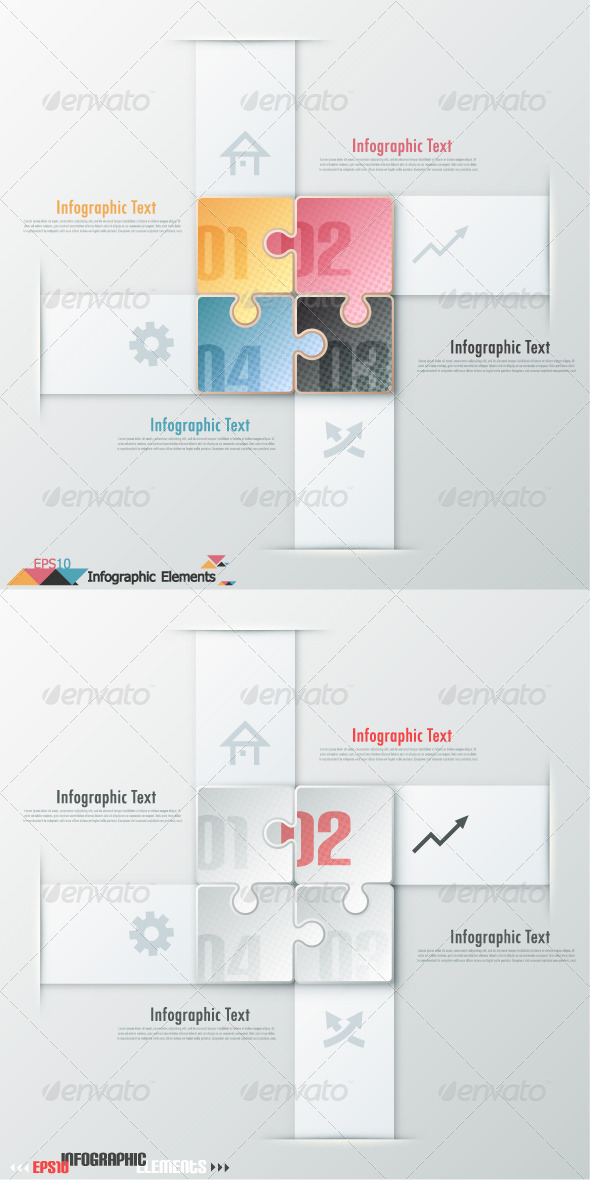 GraphicRiver Modern Infographic Options Banner Two Versions 6450073