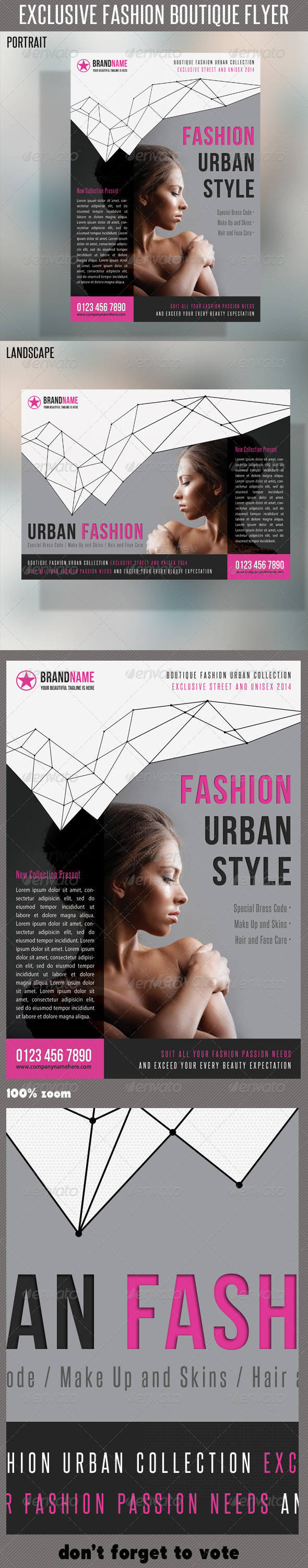 GraphicRiver Fashion Product Flyer 27 6450254