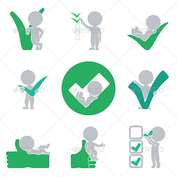 GraphicRiver Flat People Success 6450266