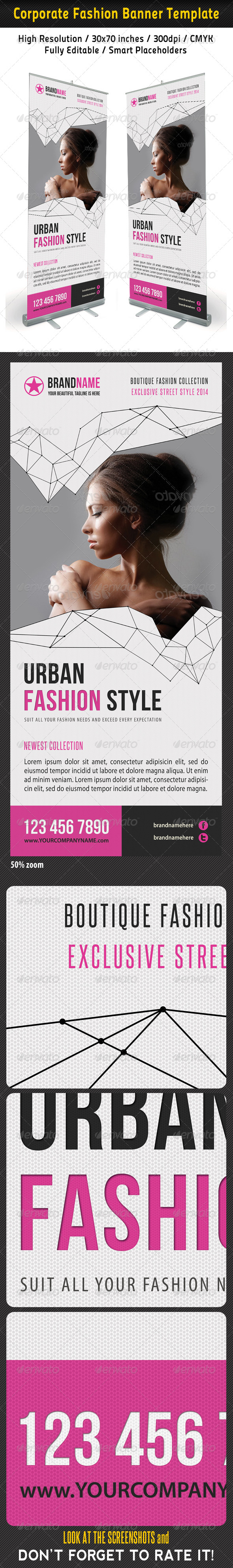 Fashion Multipurpose Banner Template 24 - Signage Print Templates