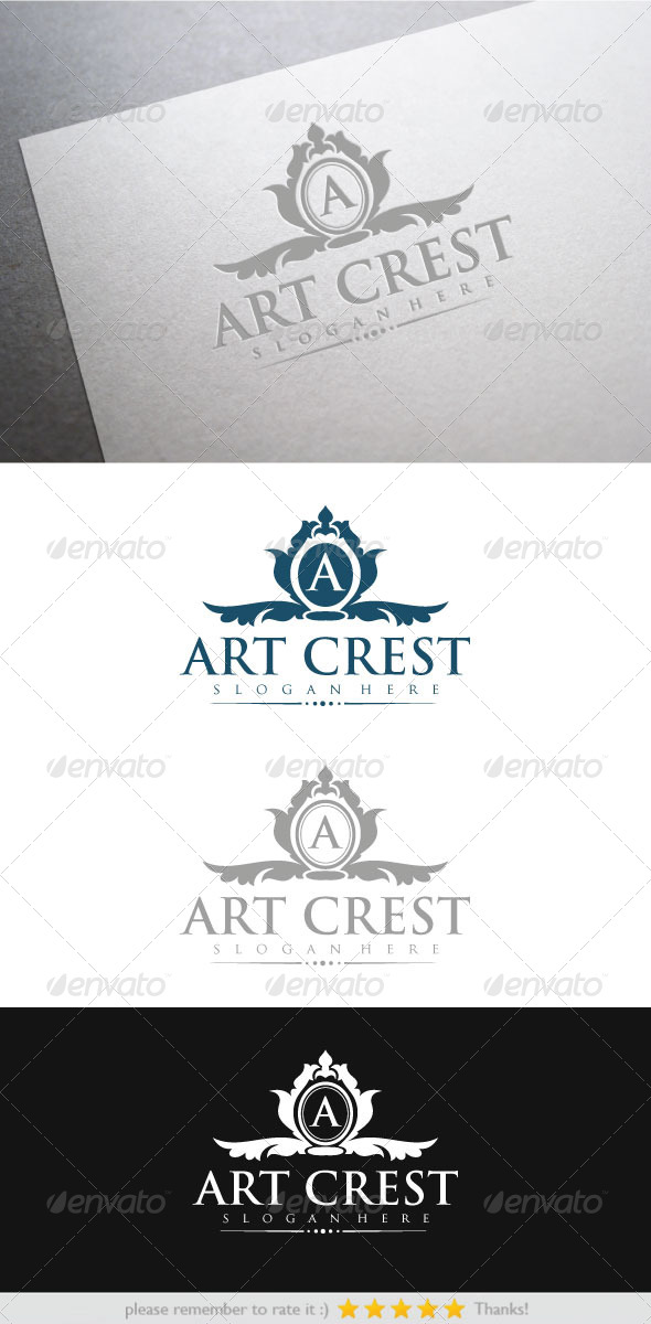GraphicRiver Art Crest 6450491