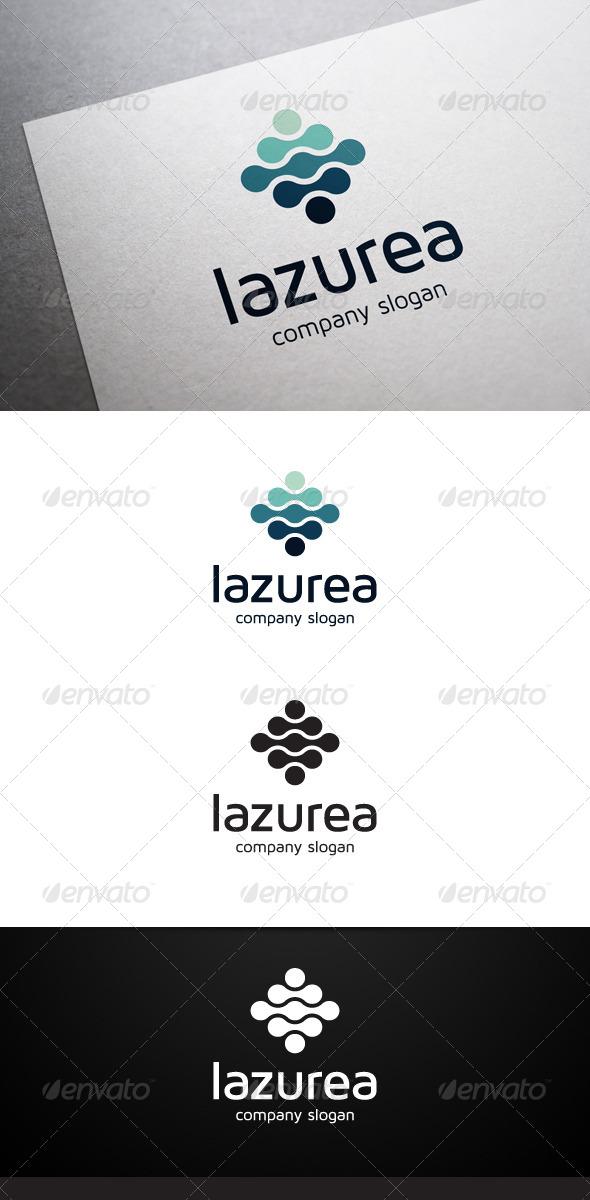 GraphicRiver Lazurea Logo 6450688