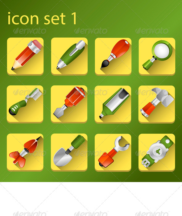 GraphicRiver Three-Dimensional Icon 6450726
