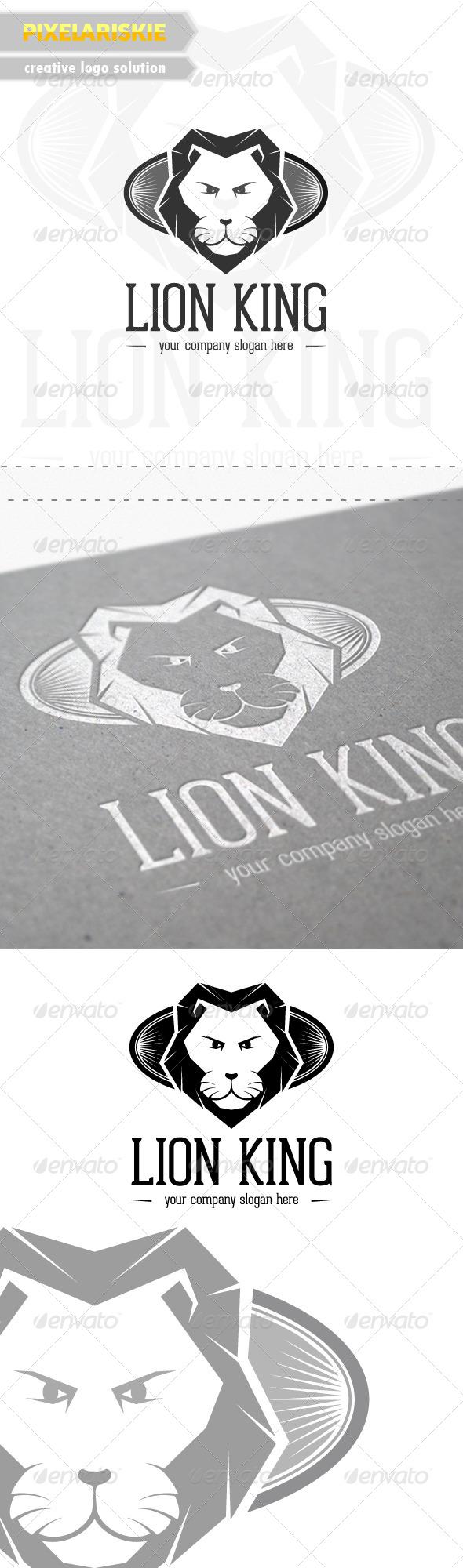 GraphicRiver Lion King Logo 6450880