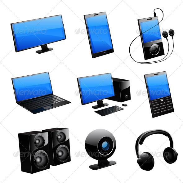GraphicRiver Media Icon Set 6451008