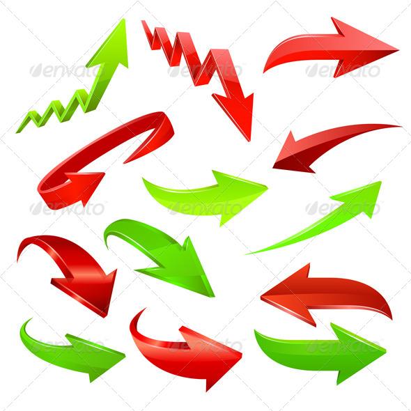 GraphicRiver Arrow Icon Set 6451031