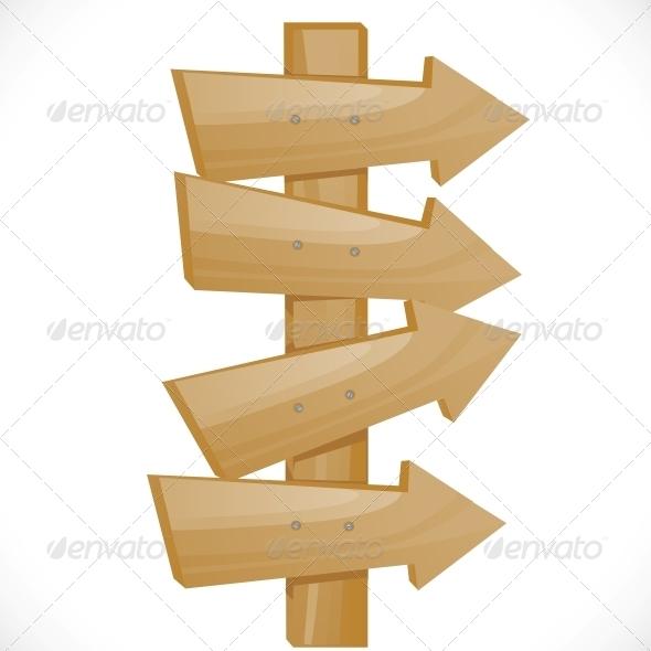 GraphicRiver Wooden Pointer 6451040