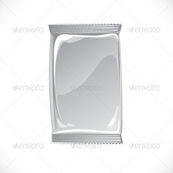 Hygienic Tissue Package Vector