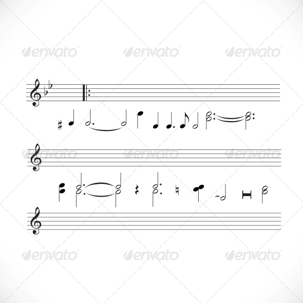 GraphicRiver Musical Notes 6451378
