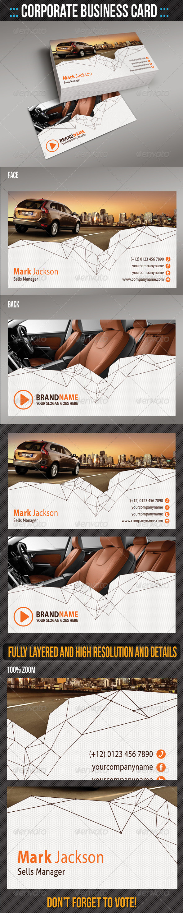 GraphicRiver Corporate Business Card 06 6451902