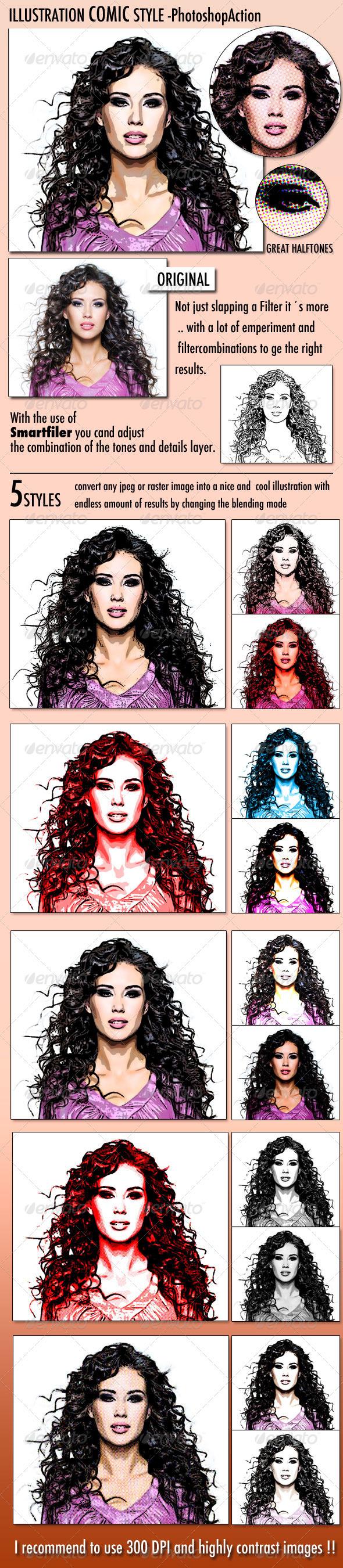 GraphicRiver Illustration Comic Style 674240