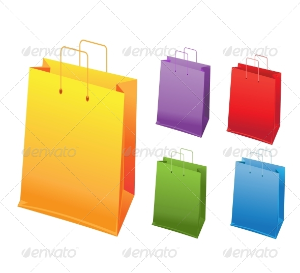 GraphicRiver Shopping Bags 6452345