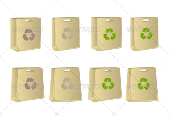 GraphicRiver Paper Ecological Bags 6452357