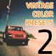 Vintage Film Color Presets 2 - VideoHive Item for Sale