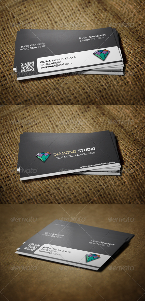 GraphicRiver Corporate Business Card 6452532