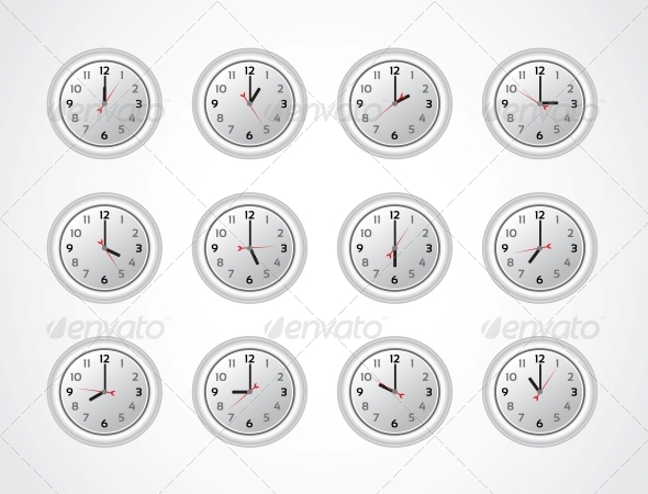 GraphicRiver Day on the White Clocks 6452876