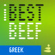 iBestBeef Grk font - GraphicRiver Item for Sale