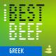 iBestBeef Grk font