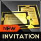 Golden Silver Ticket Corporate Invitation I - GraphicRiver Item for Sale