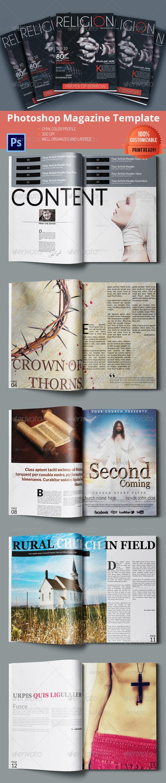 Religion Magazine Template
