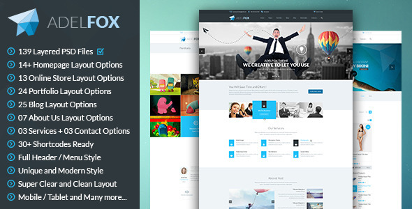 00 preview.  large preview [VIP] AdelFox PSD