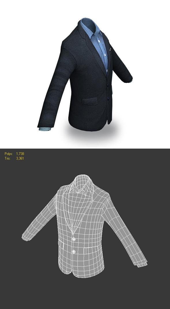Jacket - 3DOcean Item for Sale