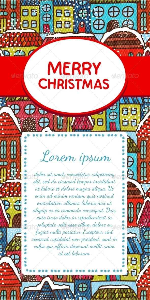 GraphicRiver Christmas Invitation Card 6295938