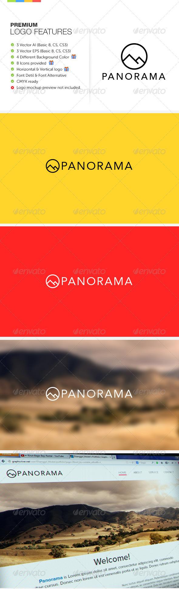 GraphicRiver Panorama Logo 6457014