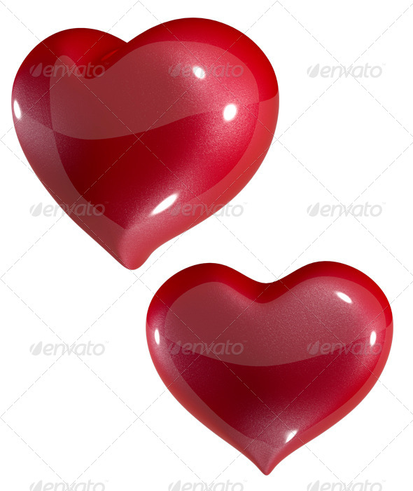 GraphicRiver Red Heart 6457875