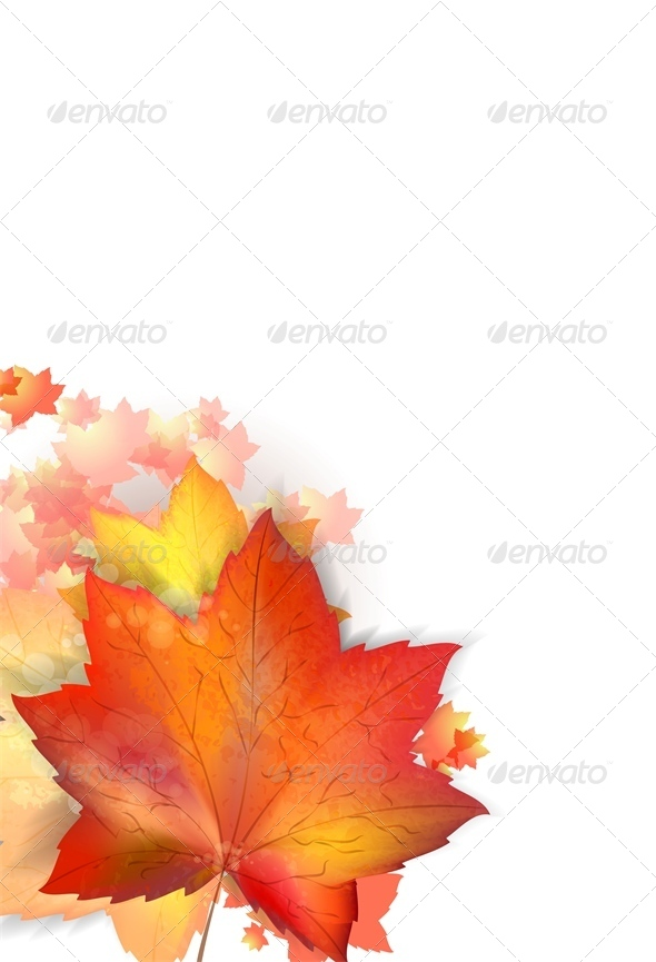 GraphicRiver Autumn Leafs 6459418