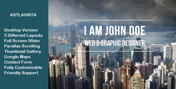 Astlavista - Multipurpose Muse Template - Corporate Muse Templates
