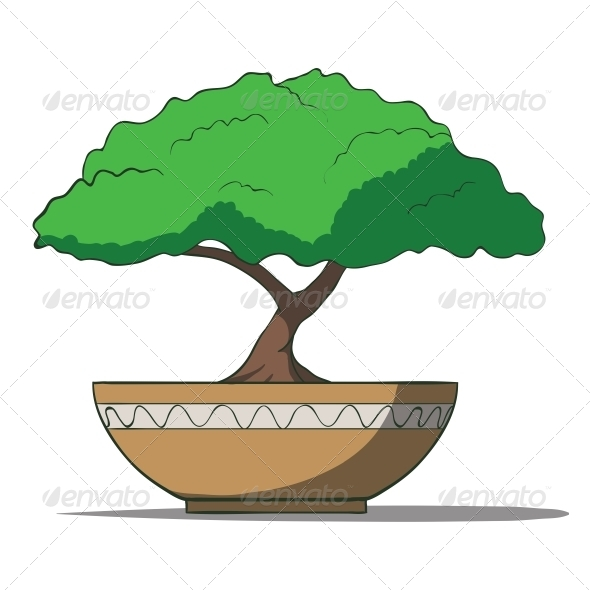 GraphicRiver Bonsai Tree 6459517