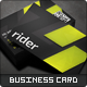 Rider Business Card - GraphicRiver Item for Sale