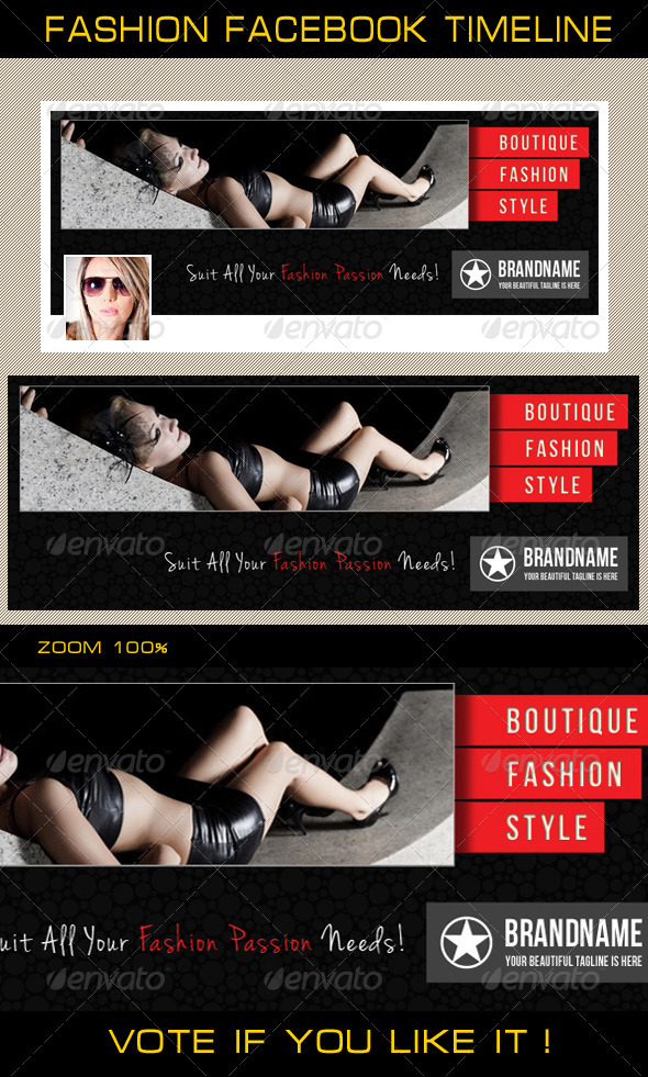 GraphicRiver Fashion Facebook Timeline 05 6459797
