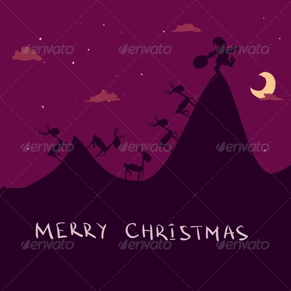 GraphicRiver Christmas Background 6459904