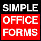 Simple Basic forms - GraphicRiver Item for Sale