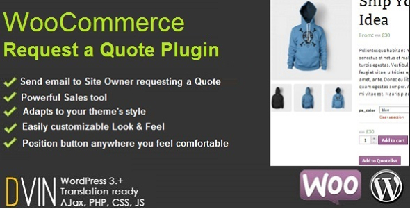 CodeCanyon WooCommerce Request a Quote 6460218
