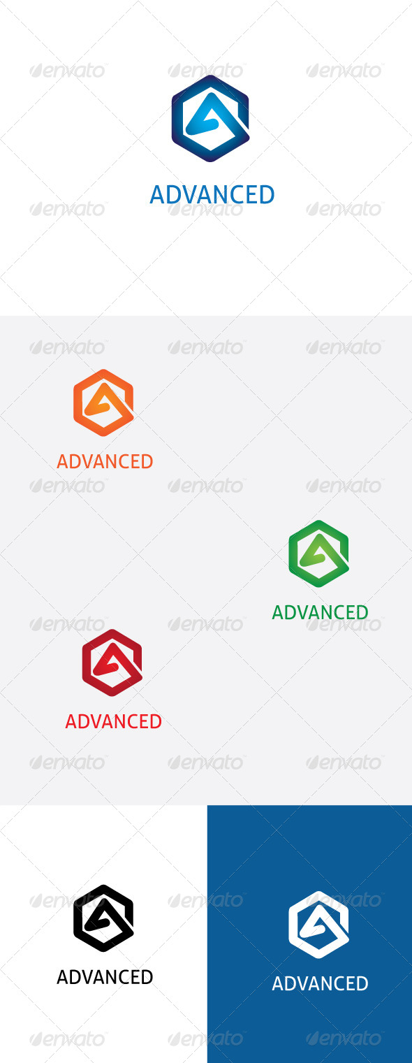 GraphicRiver A Letter Logo Template 6460645