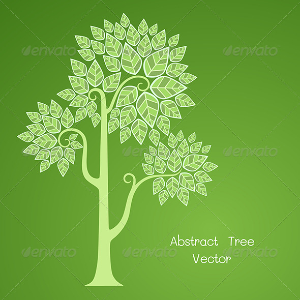 GraphicRiver Abstract Tree 6460646