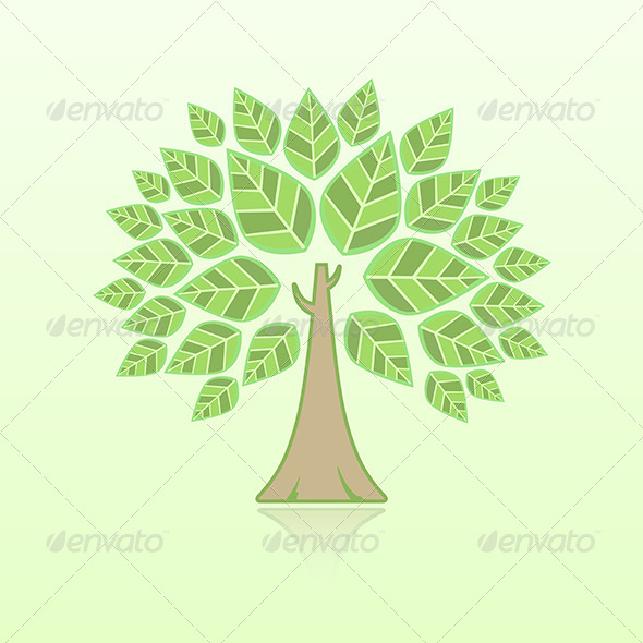 GraphicRiver Abstract Tree 6460648