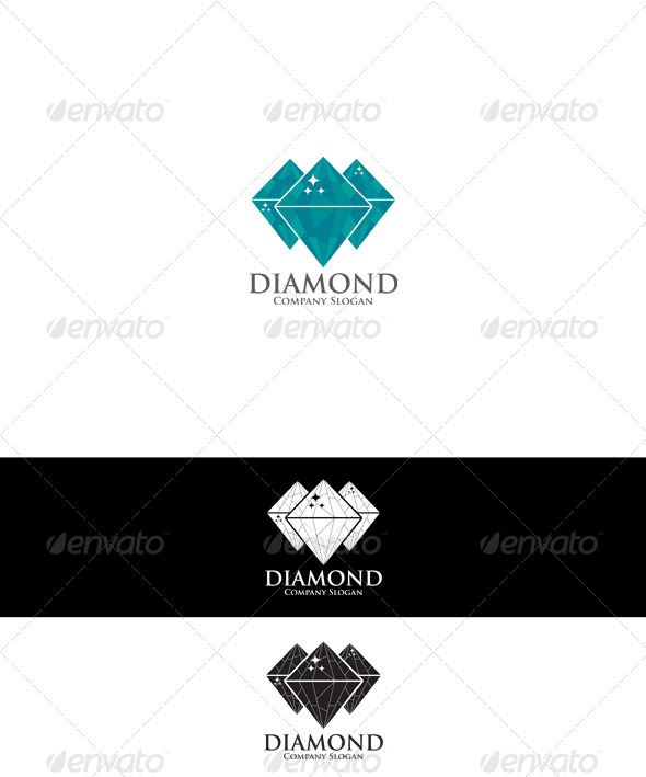 GraphicRiver Diamond Logo 6461231