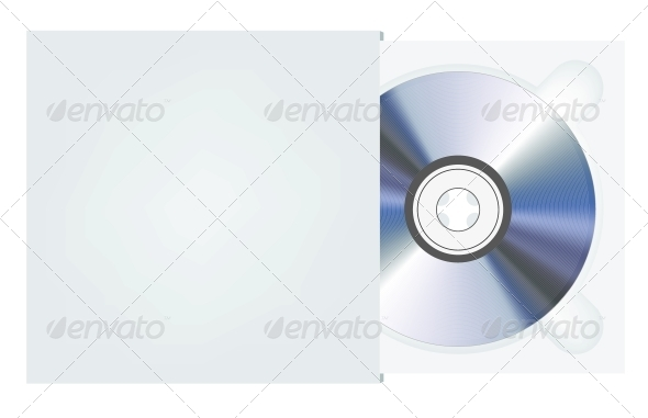 GraphicRiver Vector CD in Package 6461528