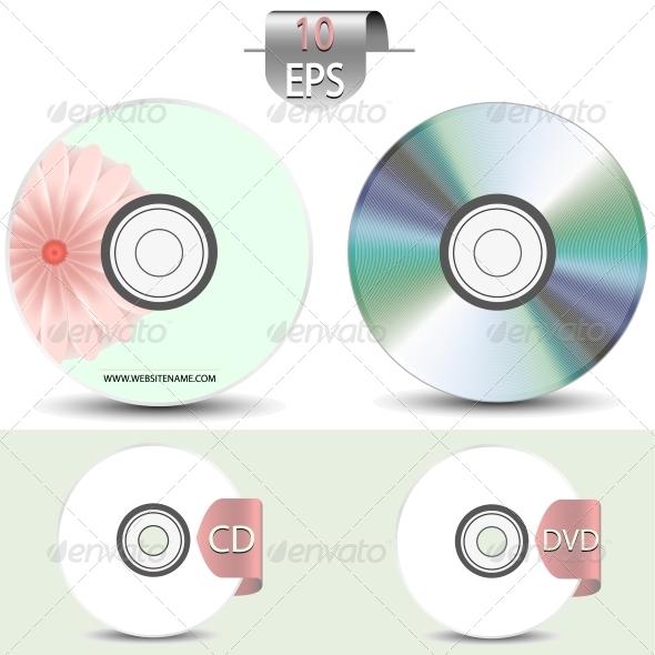 GraphicRiver Set of Disks 6461541